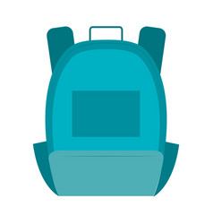 travel bag isolated icon vector image