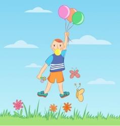 balloon boy vector image vector image