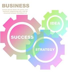 BusinessIdea-03 vector image