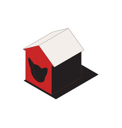 cat house icon vector image
