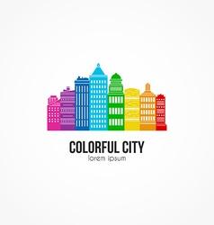 Cityline vector image