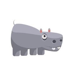 Hippo funny vector