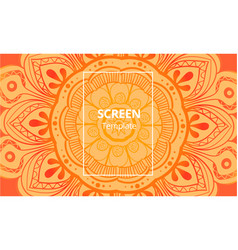 laser cutting corner tapestry panel jigsaw die vector image