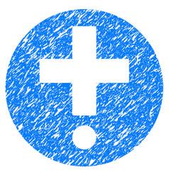 Pharmacy grunge icon vector