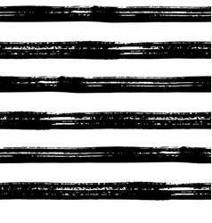 Seamless brush stroke pattern vector