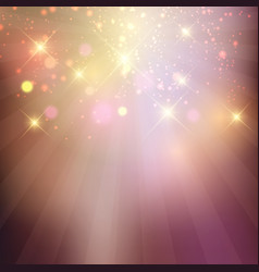 sparkle stars background vector image vector image
