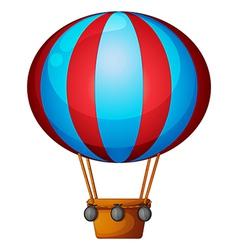 A hot air balloon vector