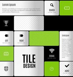 Business tile design design elements for flyers vector
