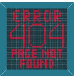 Error message background vector