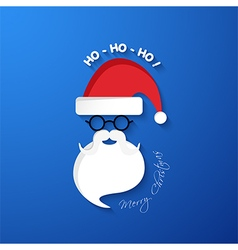 Ho merry christmas vector