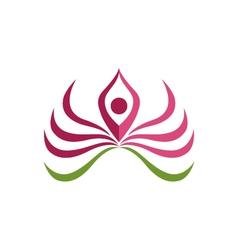 Lotus Logo Template vector