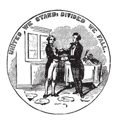 official seal us state kentucky in vector image