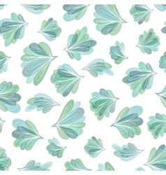 Peacock Tail Pattern vector image
