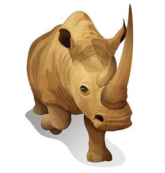 A hippopotamus vector image