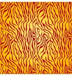 tiger skin pattern vector image