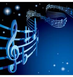 background on a musical theme vector image vector image