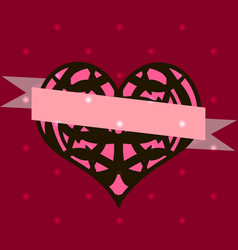 Set of templates for valentines day vector