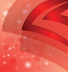 Abstract background red vector