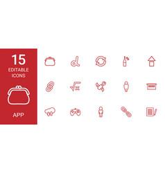 App icons vector