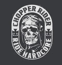 Chopper rider vector