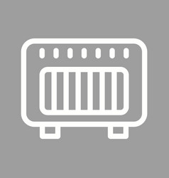 Gas heater vector