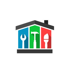 House and maintenance vector