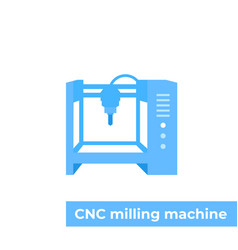 Milling machine cnc vector