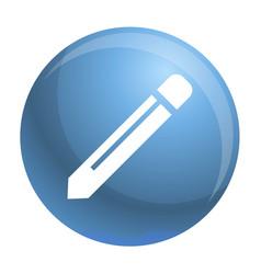 pencil icon simple style vector image