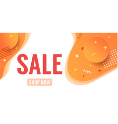 Sale offer background or banner with abstract vector