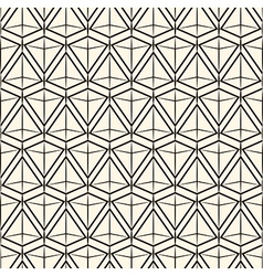 Seamless pattern modern stylish texture vector image