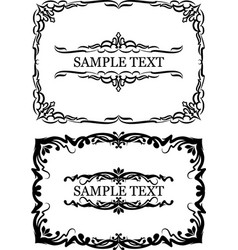 set of frames for your design vector image