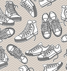 sportshoes vector image