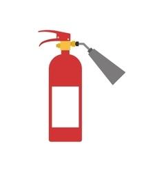 Extinguisher industrial security icon vector