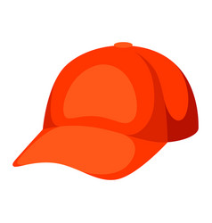 baseball cap promotional template vector image