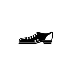 bowling shoes flat icon vector image