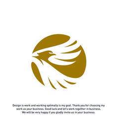 eagle logo design logo template eagle logo vector image