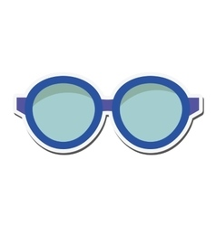 Glasses look vision design vector
