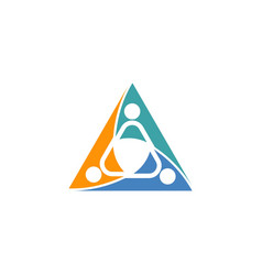 healthcare logo template vector image