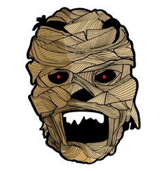 Mask Halloween Set 5 vector image