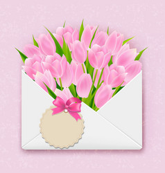 mothers day retro card vector image
