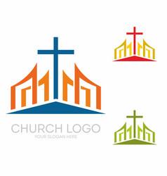 stylish cross jesus christ among graphic vector image