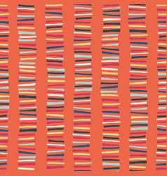 vertical blocks seamless pattern childish vector image