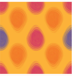 happy easter bright seamless pattern vector image vector image