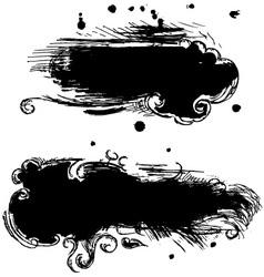 Splodge vector image