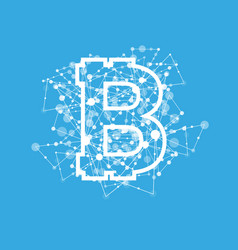 Bitcoin currency system peering network links vector