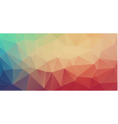 futuristic polygon backgrounds vector image