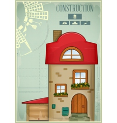 Infographics Country Construction vector image vector image