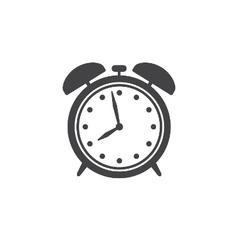 Alarm clock icon isolated vector