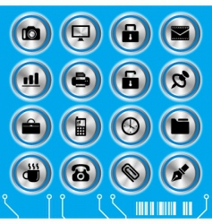 website icons set vector image