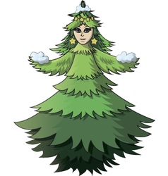 Chrismas tree vector